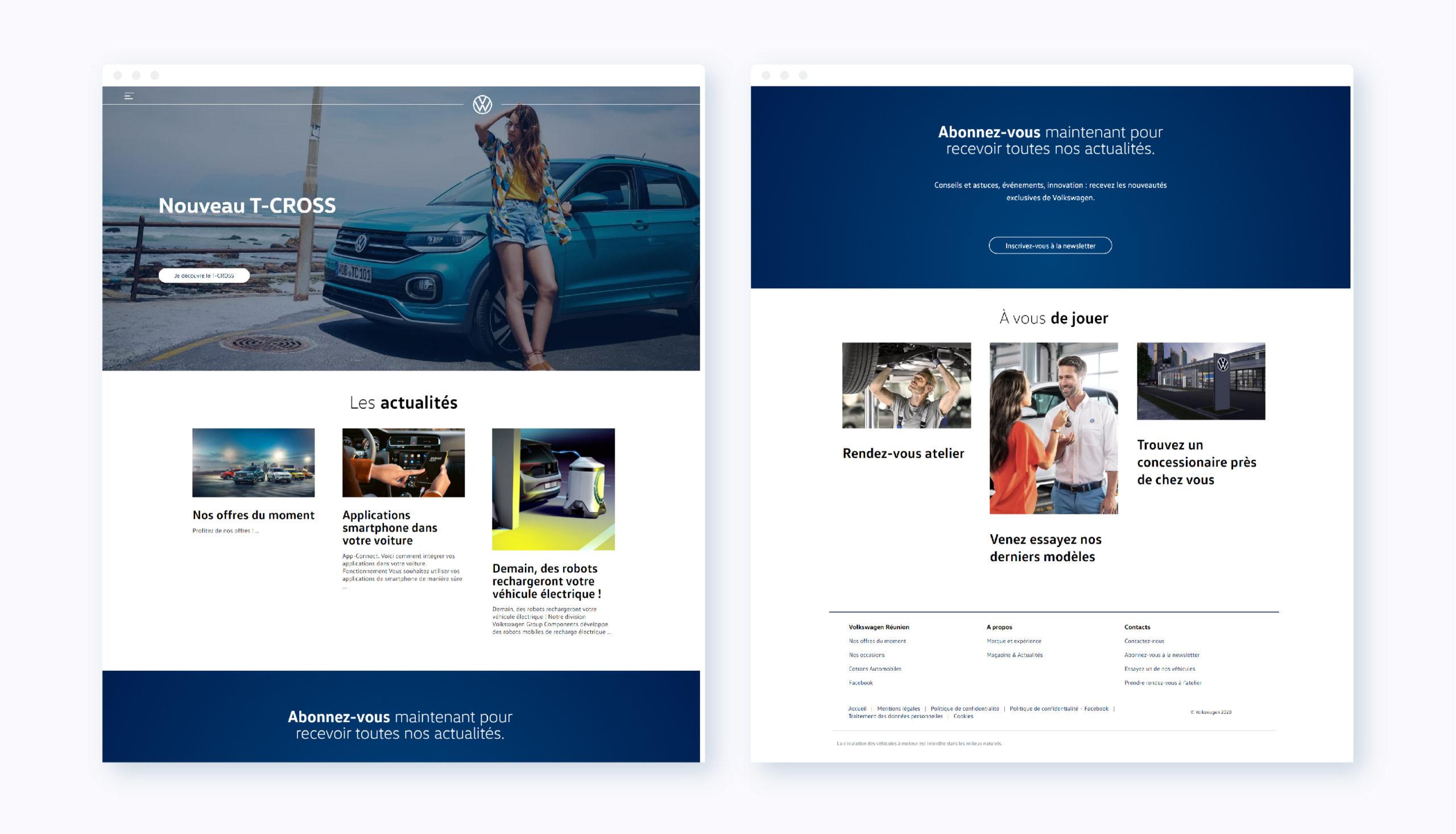 Screen Volkswagen