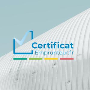 Certificat Emprunteur